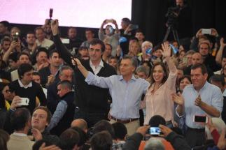 """El presidente de la Nación, Mauricio Macri llamó hoy a """"volver a derrotar el miedo"""" en las próximas elecciones, y fustigó a los precandidatos del kirchnerismo"""