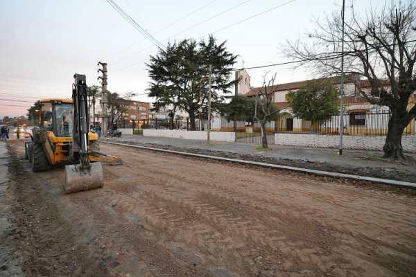 Tigre extiende obras de repavimentación en Don Torcuato