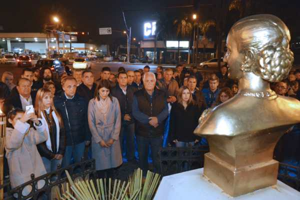 El PJ Tigre recordó a Evita y convocó a la unidad del movimiento nacional