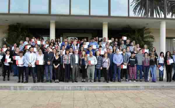 Un centenar de empleados del Municipio de Tigre pasó a planta permanente