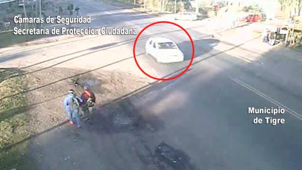 Entraron a Tigre con un auto robado y fueron detenidos