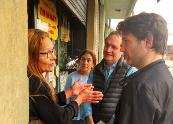 Titulo: Timbreo Nacional de Cambiemos en Troncos del Talar