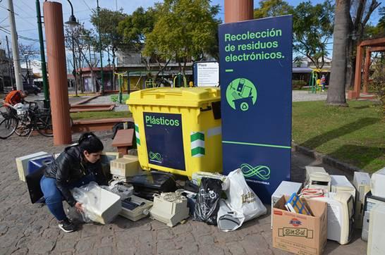 Llega a San Isidro la quinta jornada de recolección de residuos electrónicos
