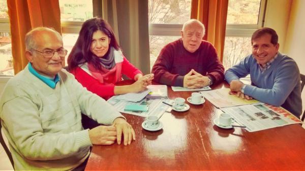 reunieron con los representantes del Centro de Almaceneros