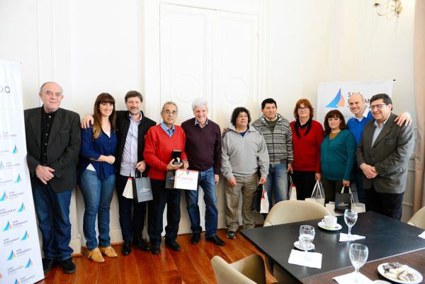 Luis Andreotti reconoció a empleados municipales que se jubilaron