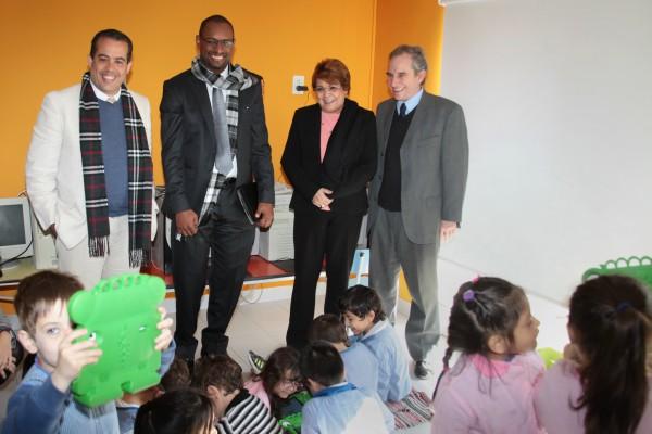 Ayer por la mañana, el Intendente, Jorge Macri y el Secretario de Educación de Vicente López, Ludovico Grillo, recibieron en el partido una delegación de educación de República Dominicana.