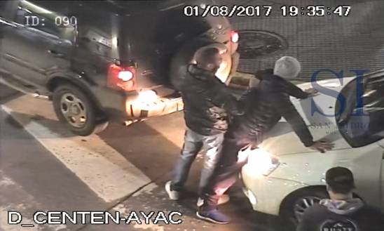 Detuvieron a un narcotraficante por las cámaras de seguridad de San Isidro
