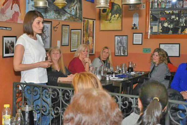 Gisela Zamora compartió un encuentro con vecinas de Tigre centro