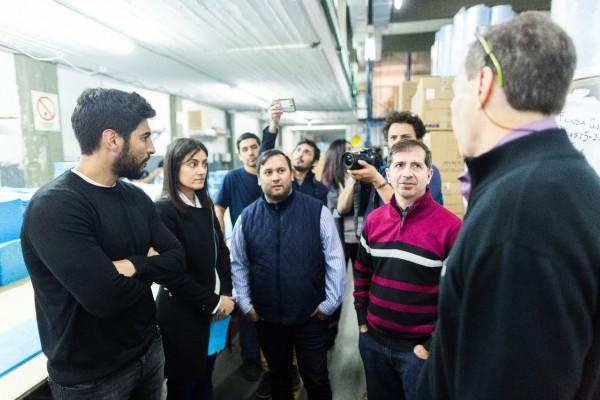Facundo Moyano y los candidatos de 1País Vicente López cerraron su campaña junto a los trabajadores