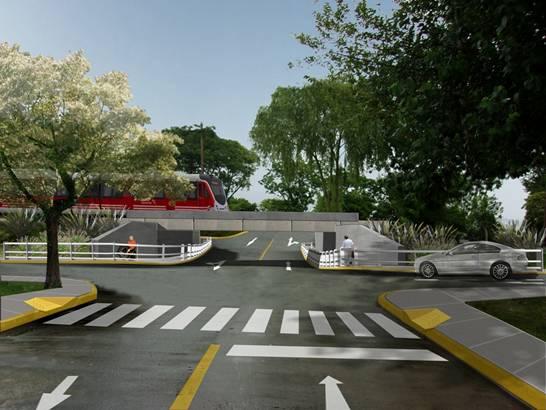 Las obras del nuevo túnel en La Calandria y las vías del Ferrocarril General Belgrano Norte, Villa Adelina, avanzan a buen ritmo. Ya se colocaron los pilotes que sostendrán los puentes ferroviarios.