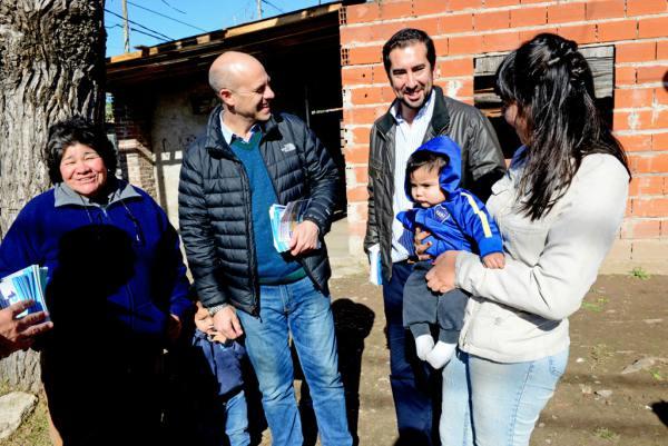 Los precandidatos de 1País San Fernando recorrieron San Ginés y Villa del Carmen