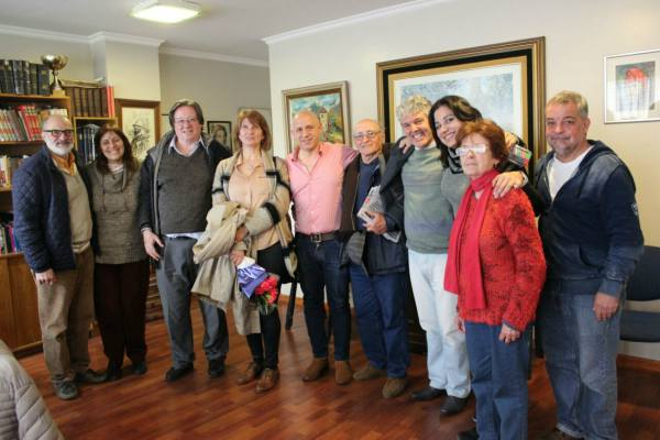 Los candidatos del Frente Socialista y Popular se reunieron con el Secretario de Trabajadores Municipales de Vicente López
