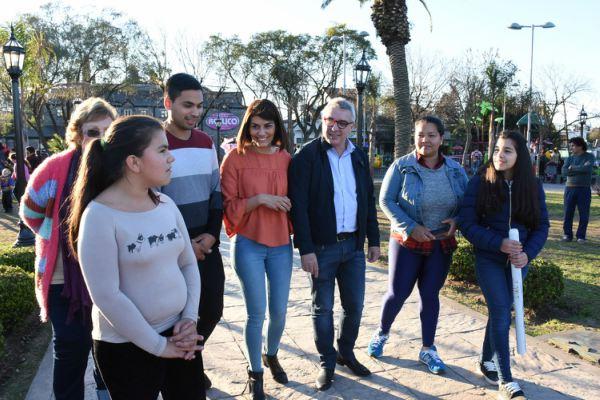 Julio y Gisela Zamora repasaron las obras e iniciativas más importantes desarrolladas en Tigre