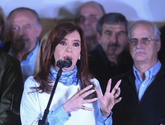 Cristina Kirchner cerró su campaña en La Matanza con críticas a Esteban Bullrich y una autocrítica