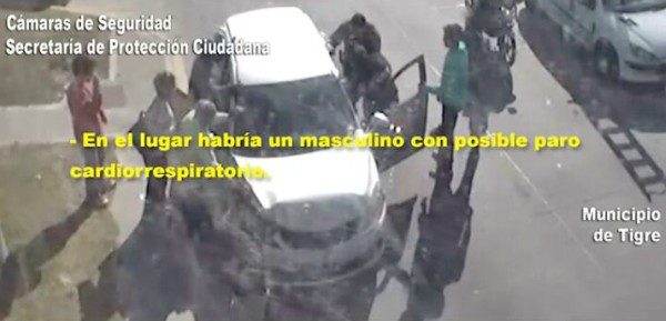 Efectivos de Tigre salvaron una vida con RCP