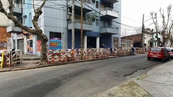 Renovación de la red eléctrica en Tigre centro