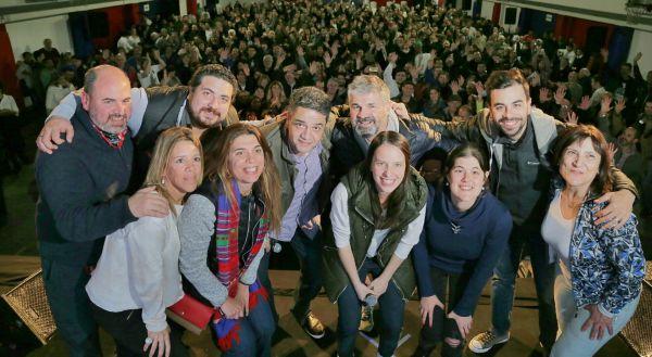 Soledad Martínez compartió su victoria en las PASO