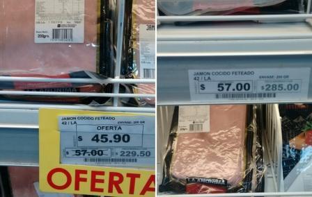 Detectan nuevos aumentos durante la promoción del Bapro en supermercados