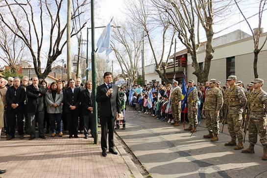 En San Isidro homenajearon al general San Martín