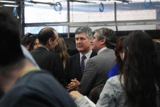 Jueces de la Cámara Nacional Electoral visitaron el recuento definitivo de votos de la elección bonaerense