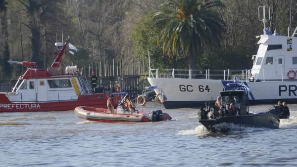 Bullrich presentó embarcaciones de última generación que serán utilizadas por la Prefectura Naval para la lucha contra los delitos complejos