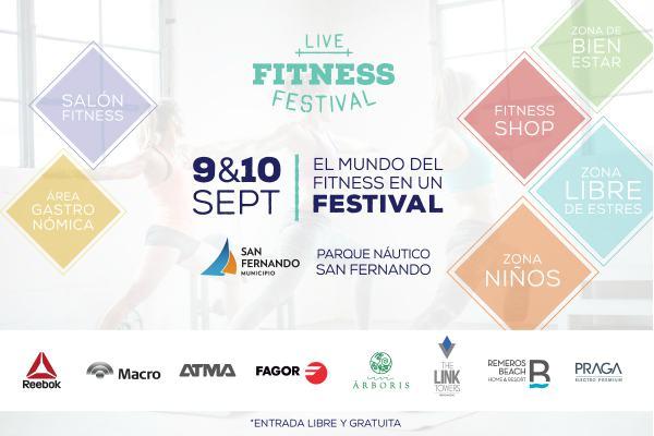 Llega el Live Fitness Festival a San Fernando