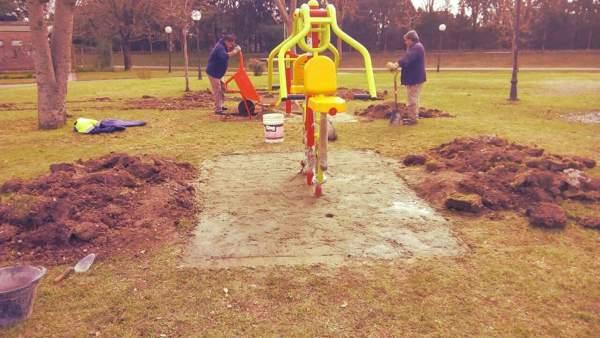 Tigre continúa la incorporación de estaciones aeróbicas en los espacios verdes
