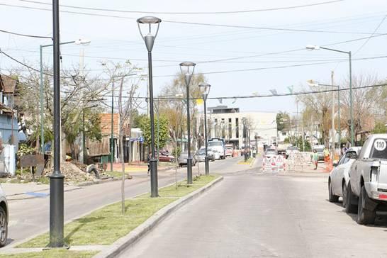 Avanza la renovación urbanística e integral en Barrio Jardín en Boulogne