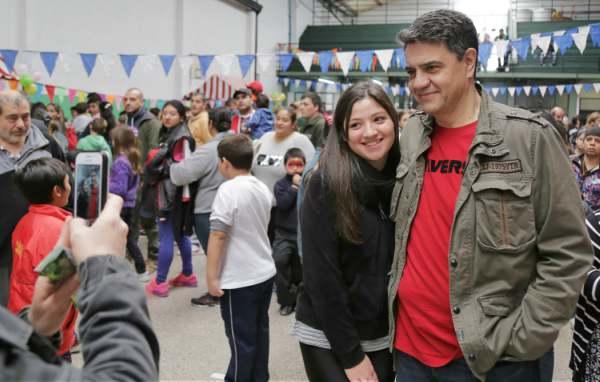 Jorge Macri y Soledad Martínez celebraron el Día del Niño en Villa Martelli
