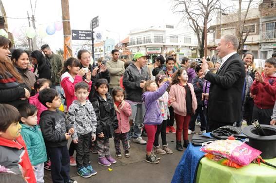Con varios festejos, se celebró el Día del Niño en San Isidro