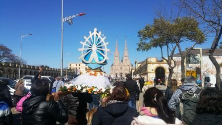 Peregrinación diocesana a Luján ()