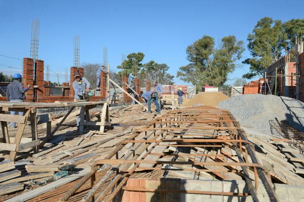 El polideportivo N°18 de Tigre ya se construye en el barrio La Mascota