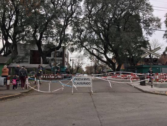 Los túneles descomprimen el tránsito ante el corte de barreras en San Isidro
