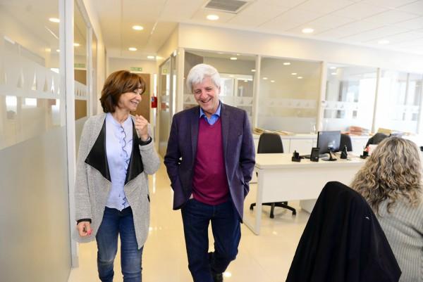 Luis Andreotti visitó la nueva Secretaría de Salud Pública