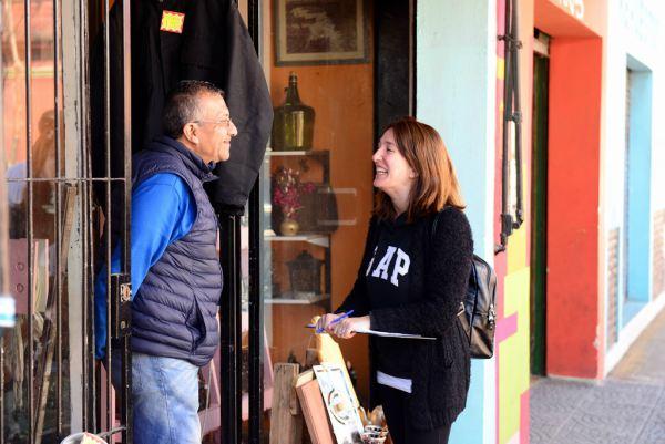San Fernando informó a los vecinos sobre la renovación del centro comercial 3 de Febrero