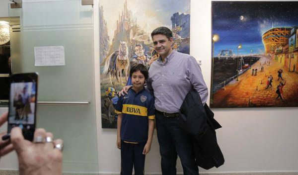 """Se lanzó en e HCD de Vicente López el programa """"Boca en tu Barrio"""""""