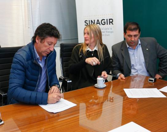 Convenios entre el municipio de San Isidro y el Ministerio de Seguridad de Nación