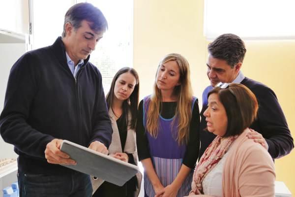 Jorge Macri y Esteban Bullrich anunciaron obras en instituciones educativas de Vicente López