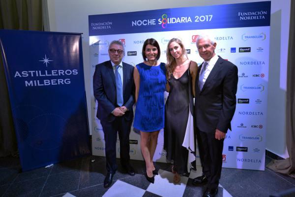 Julio Zamora acompañó a la Fundación Nordelta en su 16° aniversario