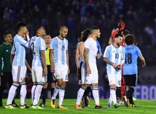 Argentina empató con Uruguay en el debut oficial de Sampaoli pero el reparto de puntos no resultó alentador