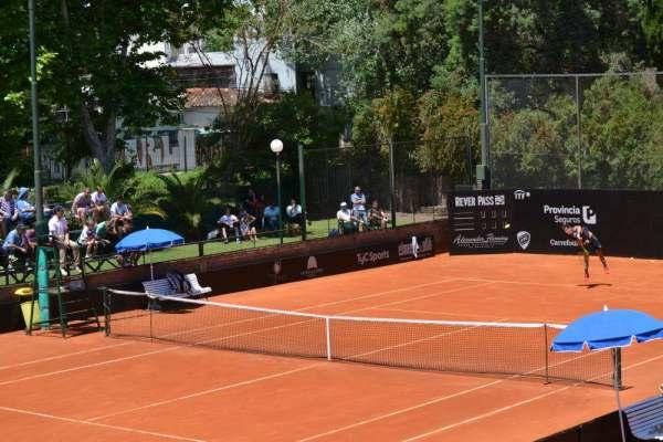 Inicia la Copa Ciudad Vicente López, en el Florida Tenis Club