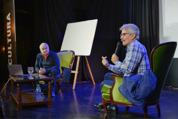 Tigre brindó una clase magistral de guión audiovisual con Jorge Maestro y Sergio Vainman