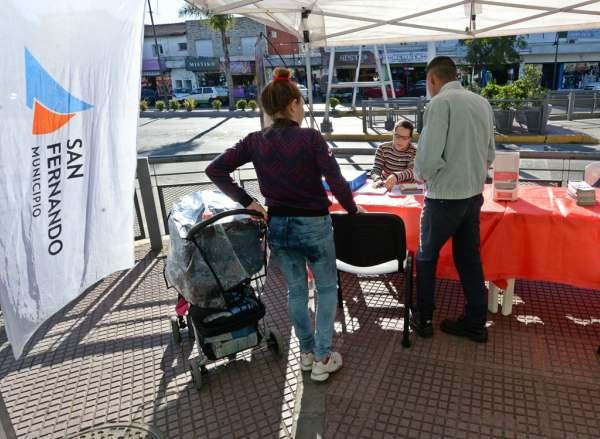 San Fernando profundiza su campaña de detección y prevención del SIDA
