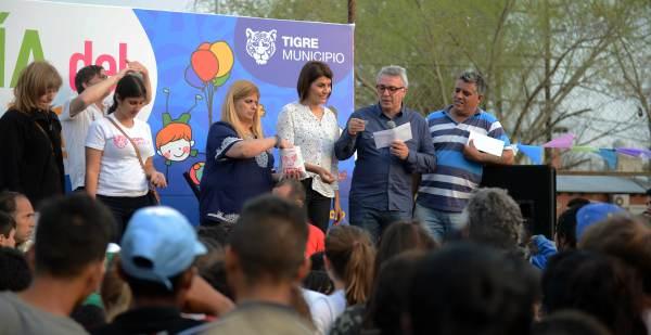 Alegría y diversión en los festejos por el Día del Niño en Tigre