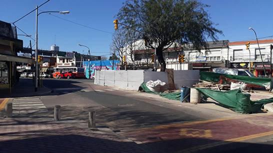 Acceso a Boulogne: modernizan la plazoleta de Bulnes y Av. Avelino Rolón