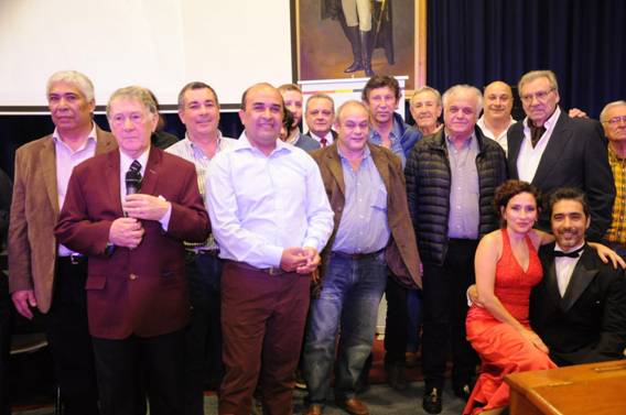 Con una gran noche de tango Recordaron a Melchor Posse