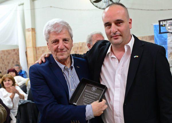 Luis Andreotti participó del festejo por los 47 años del Círculo Italiano Virreyes