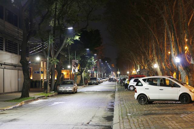 Martínez: renovaron más de 200 luminarias led en Dardo Rocha