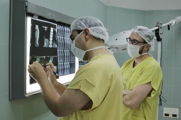 Vicente López fue sede de una cirugía única en el país