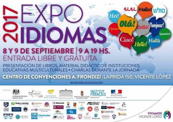Quinta expo idiomas en Vicente López